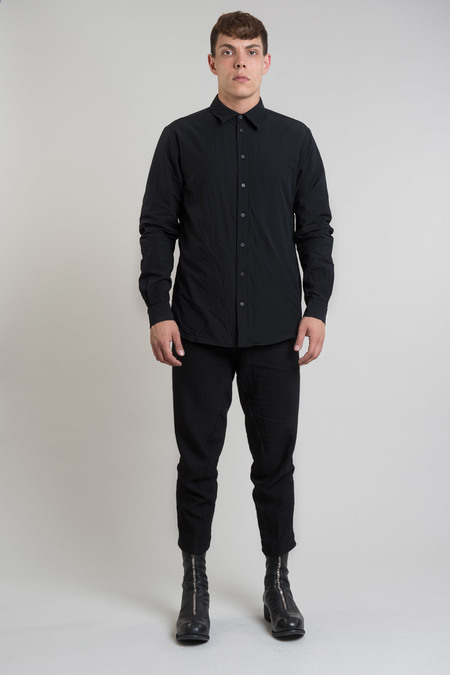 Forme d'Expression Juxtaposed Shirt - Black