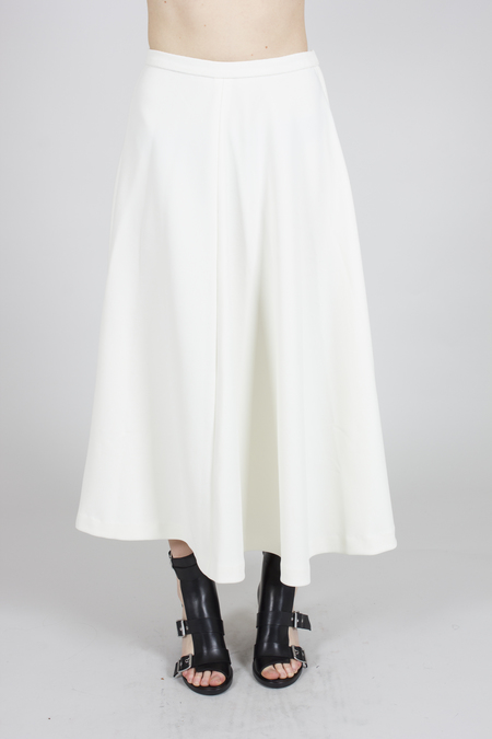 Greyyang Full Length Skirt - White