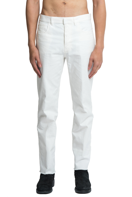 Haider Ackermann Skinny Trousers - White
