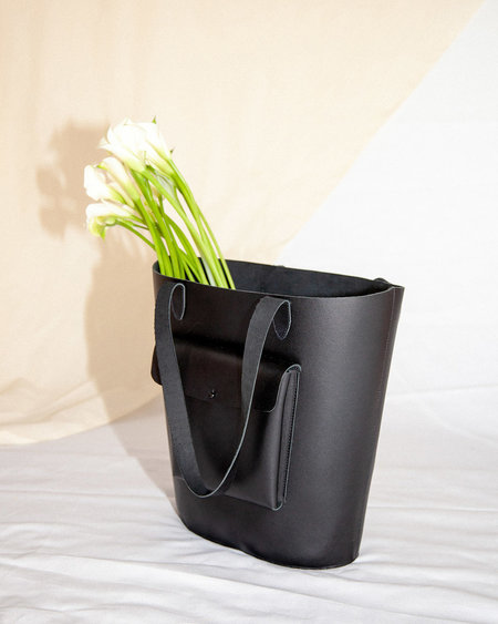 If I Fell The Bloom Tote - Black