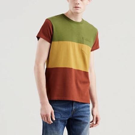 Levi's Vintage Clothing 1950s Sportswear Tee - Multi Stripe