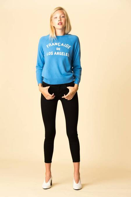 Replica Los Angeles Francaise Cashmere Sweatshirt - Azure