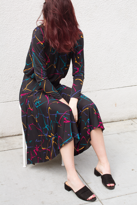 Mercy Vintage Dress - Splatter