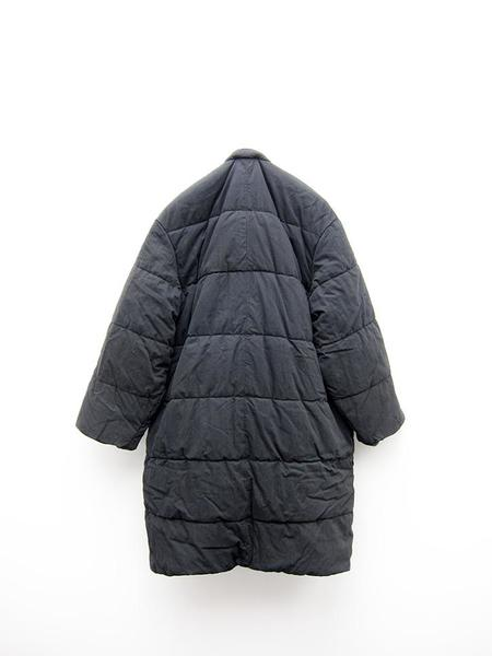 Unisex Kapital Rip Stop Quilted Samu Coat - Black