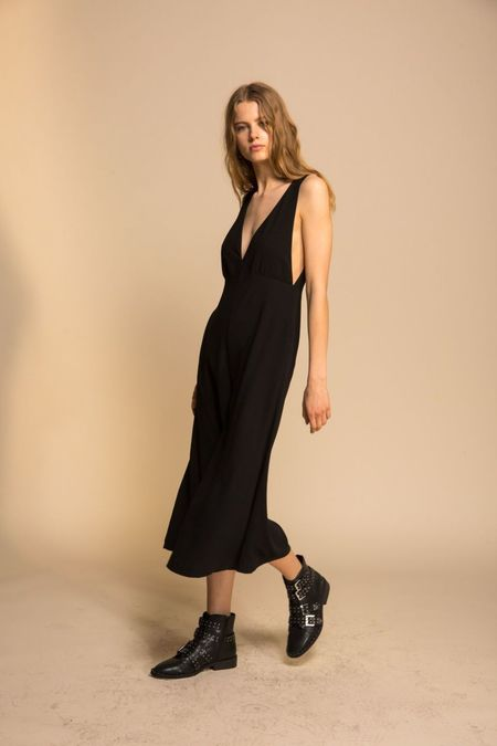 Line & Dot Elisa Jumpsuit - Black