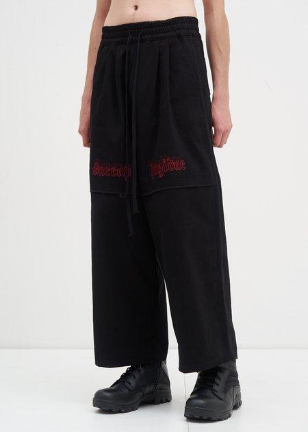 Komakino Sarcohagidae Trousers - Black