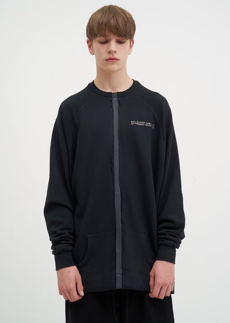 Komakino Taped Crewneck - Black
