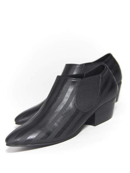 """Intentionally __________."" Brady Boots - Black Stripe"