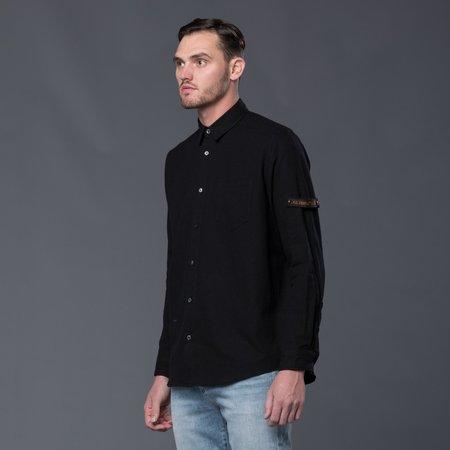Robert Geller Franz Pocket Shirt - Black