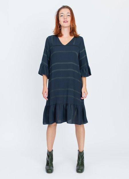 Acote Bleu Nuit Dress - blue