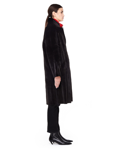 32 Paradis Reversible Mink Fur Coat - Brown
