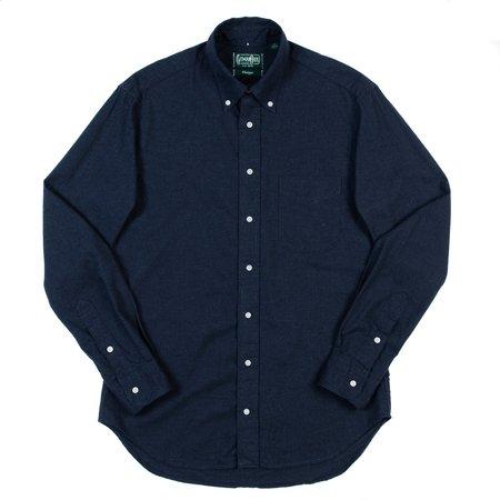 Gitman Vintage Button-Down Shirt - Navy Classic FLannel