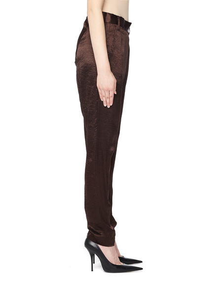 If Six Was Nine Wrap Trousers - Brown