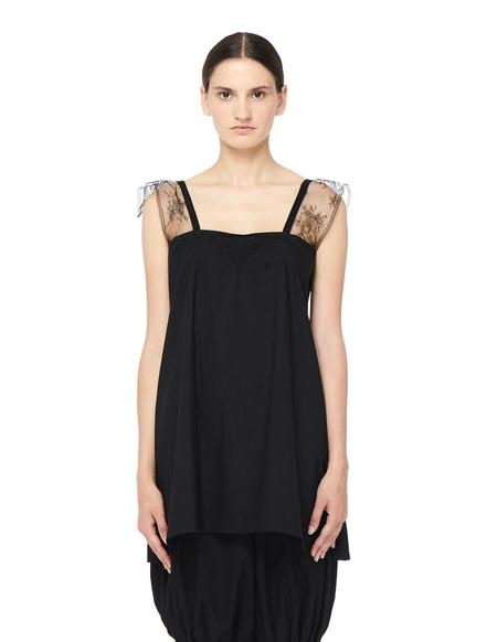 Blackyoto VINTAGE Lace Camisole - BLACK