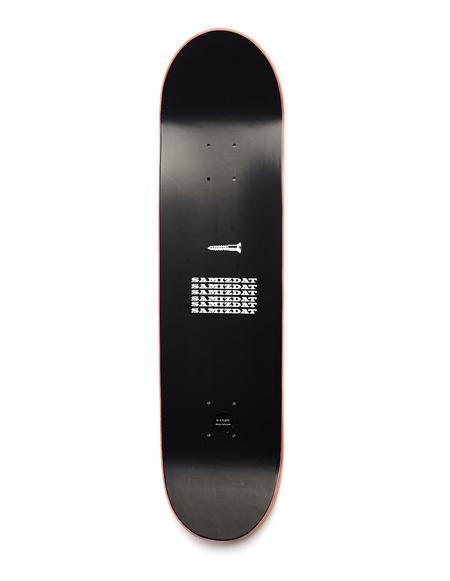Yang Li Samizdat Skateboard Deck - Black