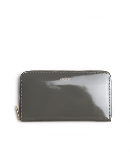 Undercover Leather Logo Wallet - Gray