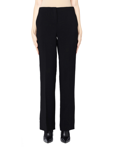 The Row Avery Straight-Leg Wool Pants - Black