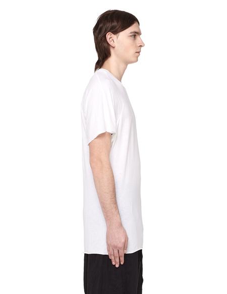 Lost&Found Raw Hems Crewneck T-shirt - White