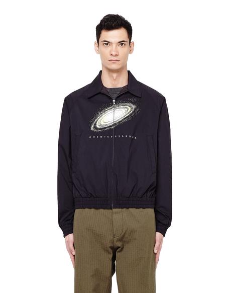 John Undercover Printed Cotton Bomber Jacket - Black