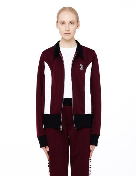 Enfants Riches Deprimes Christie's Track Jacket - Burgundy