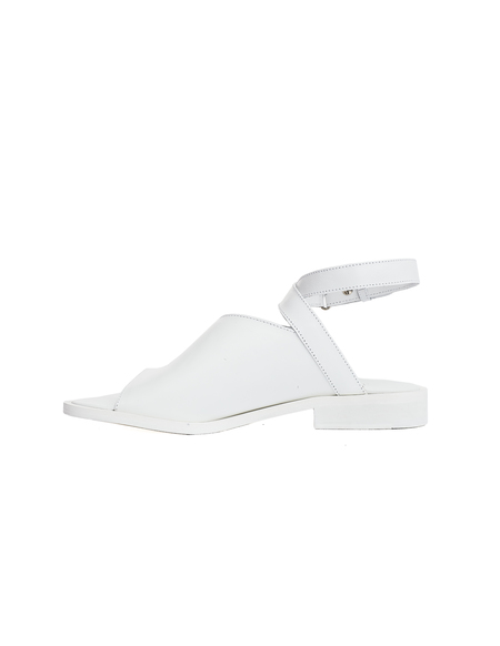 A.F.Vandevorst Leather Sandals - White