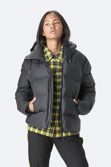 Unisex Rains Puffer Jacket - Black