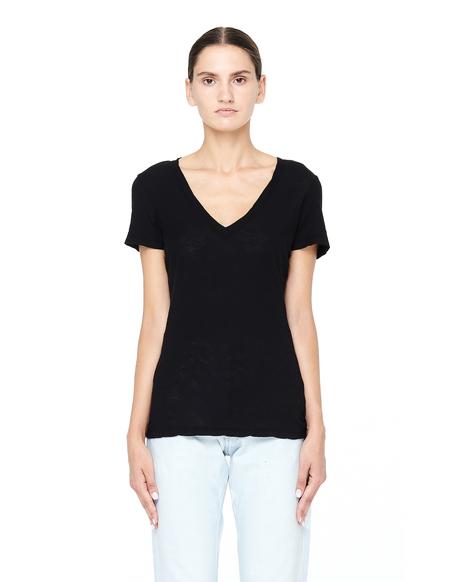 James Perse Cotton T-Shirt - Black