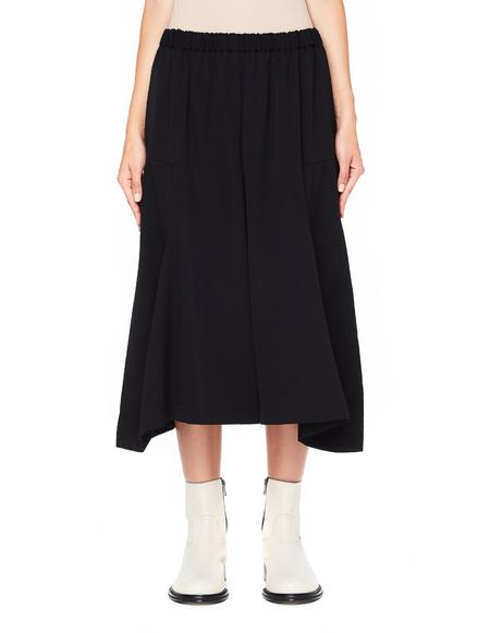 Comme des Garcons Wool Culottes - Black