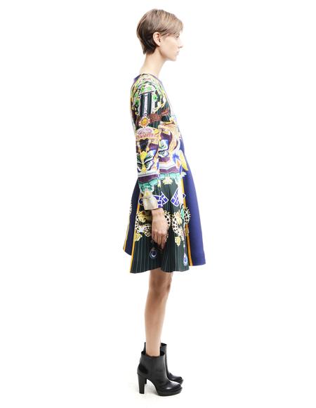 Mary Katrantzou Rayon And Silk Dress