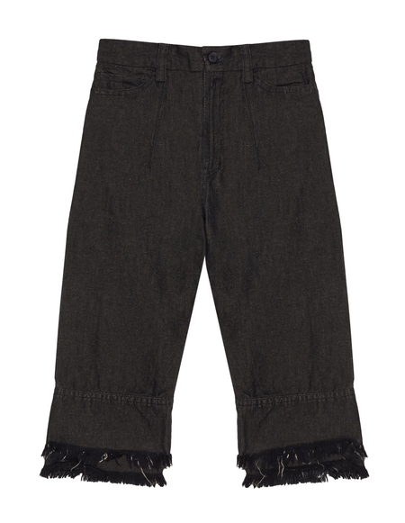 Kids Lost&Found Linen/Cotton Jeans - Black
