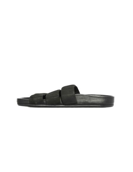 Rick Owens Leather Sandals - Black