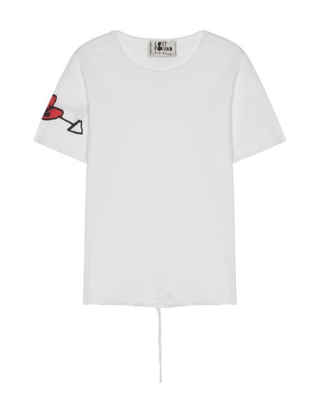 Kids Lost&Found Cotton T-shirt - White