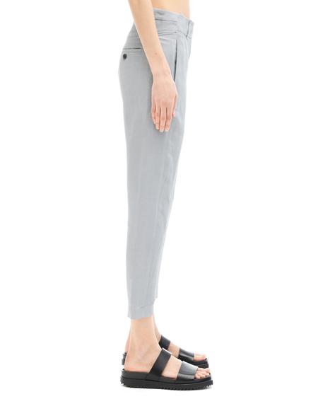 Ann Demeulemeester Linen/Nylon Trousers