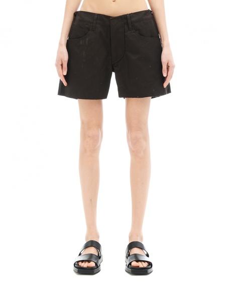 L.G.B. Cotton Shorts - Black