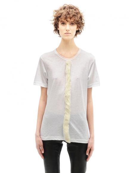 Comme des Garçons Cotton t-shirt - white
