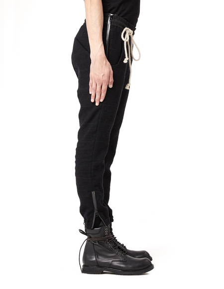 Avialae Wool sweatpants - BLACK
