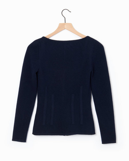 Brock Collection Kennedy Sweater - Navy