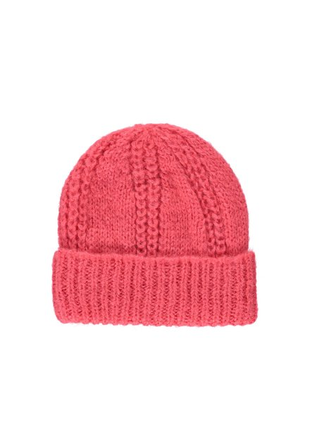 A.P.C. Reyna Knit Cap - Bright Pink