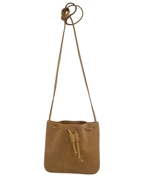 d/e goods Nubuck Tote Small - Taupe
