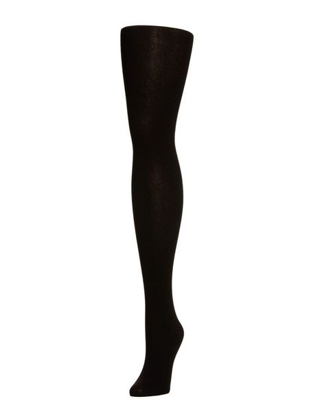 Hansel From Basel Cashmere Tights - BLACK