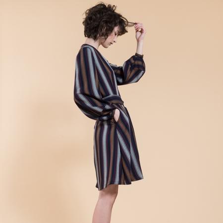 Jennifer Glasgow Roberta Dress - stripe