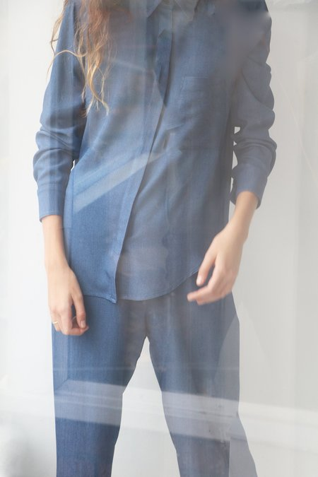 Soft Focus Lounge Pant - Denim Tux
