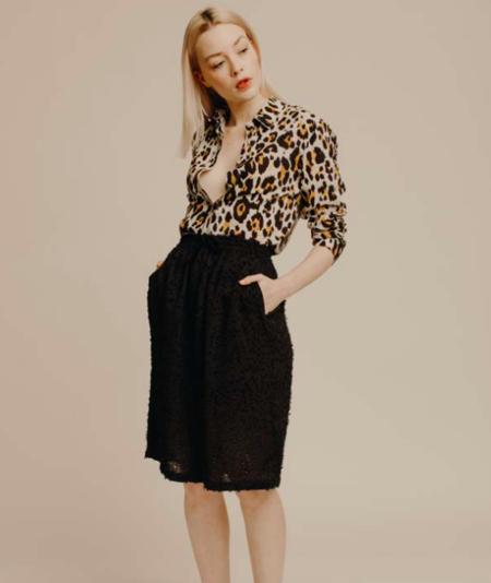 suzie winkle Mathilde Top - Leopard