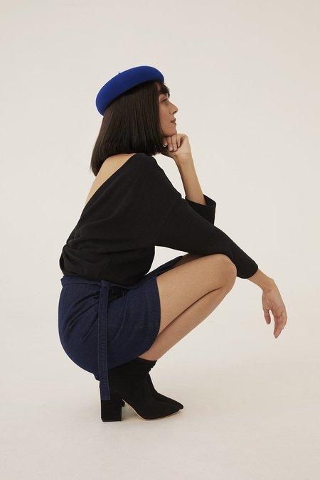 Ursa Minor Studio Lou Denim Skirt - Blue
