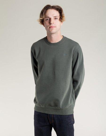 Katin Crew Neck Fleece Sweatshirt - Olive