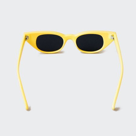 Adam Selman x Le Specs The Breaker Sunglasses - Yellow