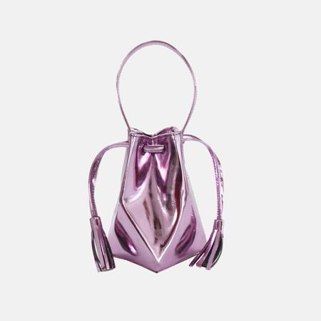 The Common Knowledge Mini Prism Bag - Metallic Lilac