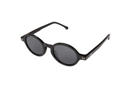 Unisex Komono Damon Sunglasses - Acetate Black