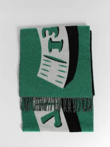 Henrik Vibskov Measuretape Scarf - Black/Green