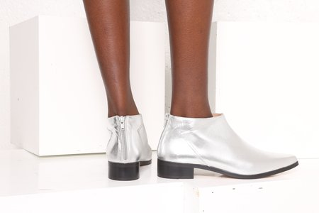 """""""INTENTIONALLY __________."""" Odessa Boots - Silver"""